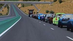 В 2011 году машины начнут ездить самостоятельно