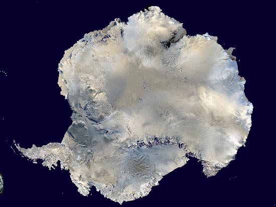 Антарктида — это пустыня