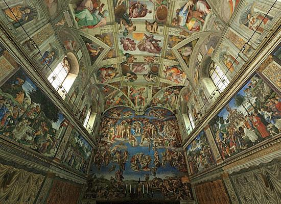 Микеланджело, расписавший Сикстинскую капеллу, на самом деле ненавидел рисовать