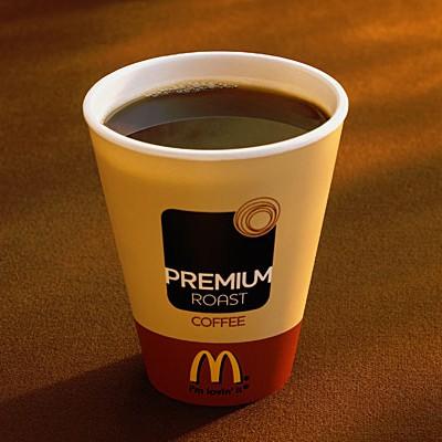Фастфуд наносит организму больше вреда, если запивать его кофе