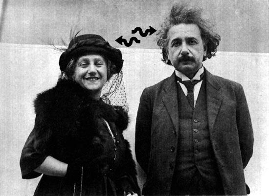 Альберт Эйнштейн изучал паранормальные явления и телепатию