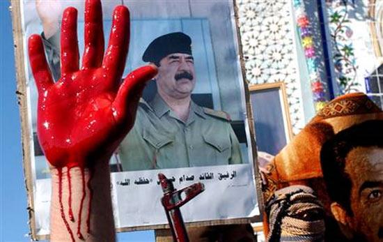 У Саддама Хусейна был Коран, написанный его кровью. На его создание ушло 27 литров