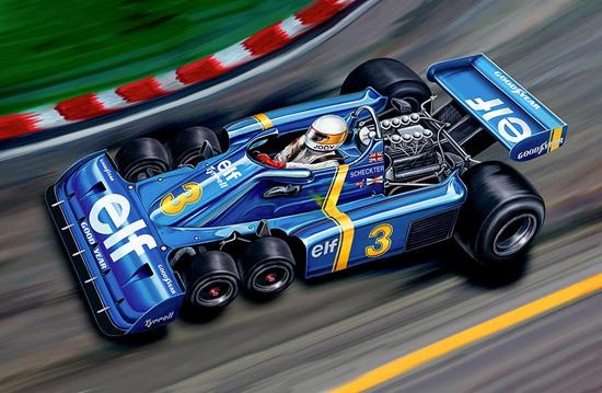 Tyrrell P34 Six Wheeler — единственный шестиколесный болид, принимавший участие в гонках «Формулы 1»