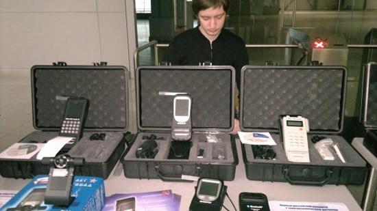 В России разработан новый алкотестер с большим сенсорным экраном