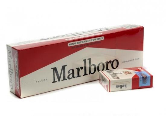 Современные сигаретные пачки — флип-топы — придумали Marlboro