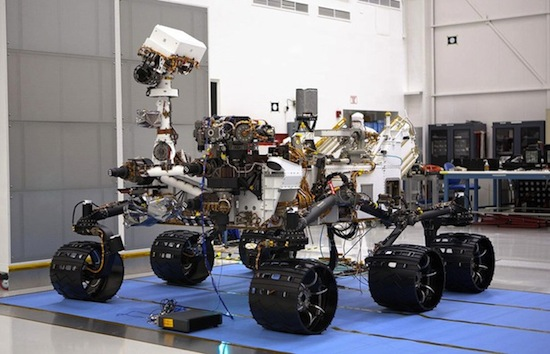 7 фактов о марсоходе «Curiosity»