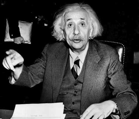Альберт Эйнштейн не верил в библейского Бога