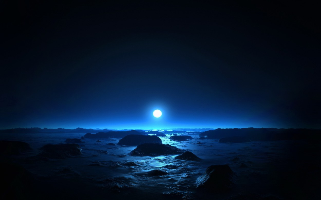 Иногда Солнце с Земли выглядит голубым