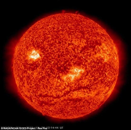На следующий день после «конца света» Солнце «подмигнуло» Земле