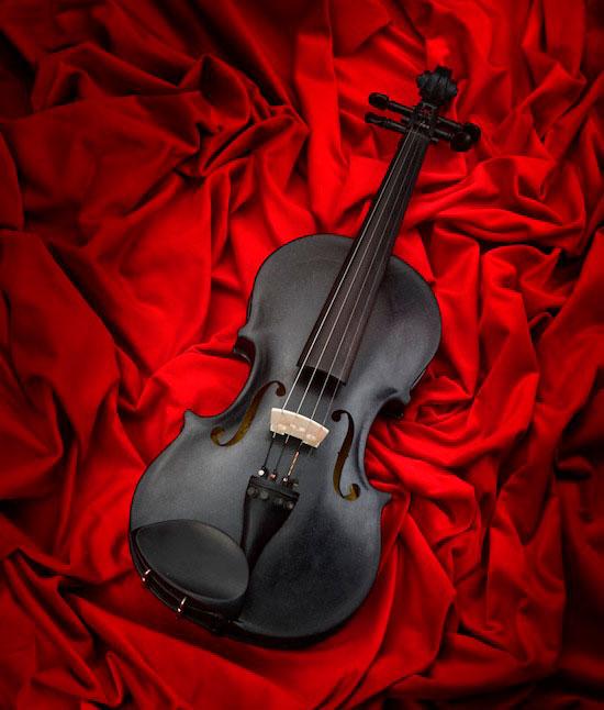 «Чёрная Птица» — каменная скрипка, на которой можно играть