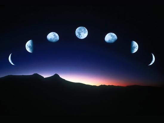 На самом деле вы можете увидеть больше, чем половину Луны