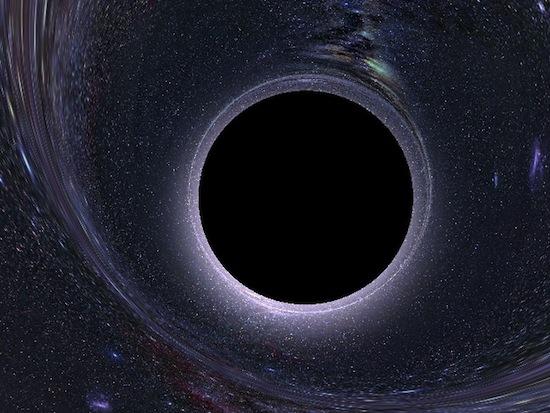 Физики предполагают, что наша Вселенная существует внутри чёрной дыры