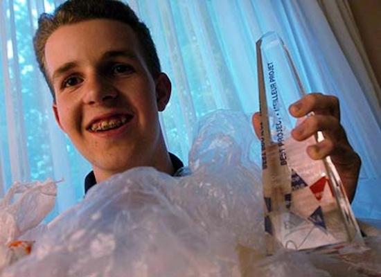 10 потрясающих научных проектов, созданных подростками