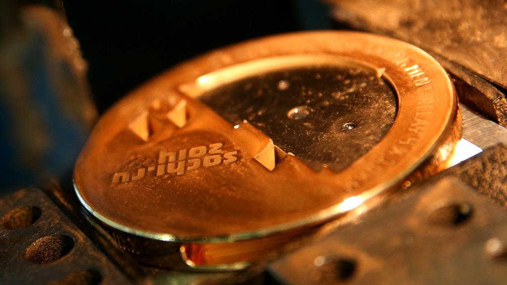 Золотые олимпийские медали только на 1,5% состоят из золота