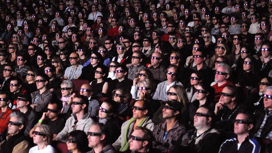 На самом деле 3D-фильмы впечатляют зрителей не больше обычных