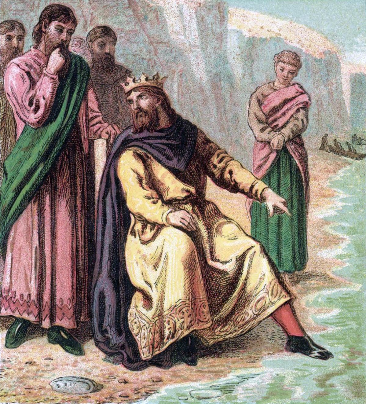 Возможно, единственный раз в истории, когда король унизил себя нарочно