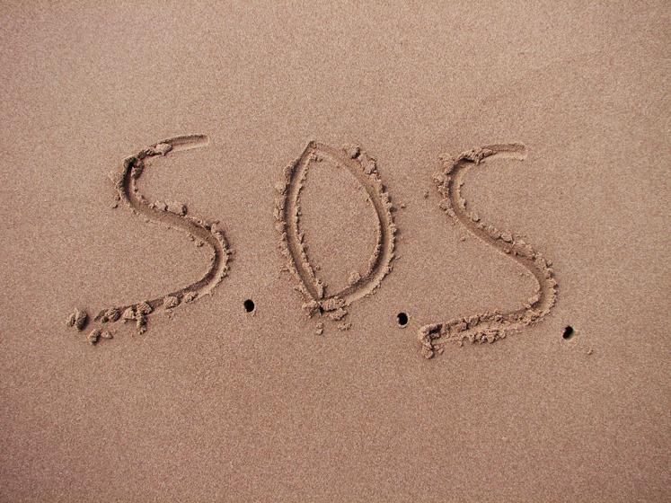 Сигнал «SOS» не имеет смысла и никак не расшифровывается