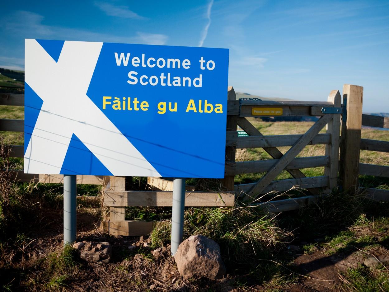 За слоган «Добро пожаловать в Шотландию!» шотландские власти заплатили $400 000