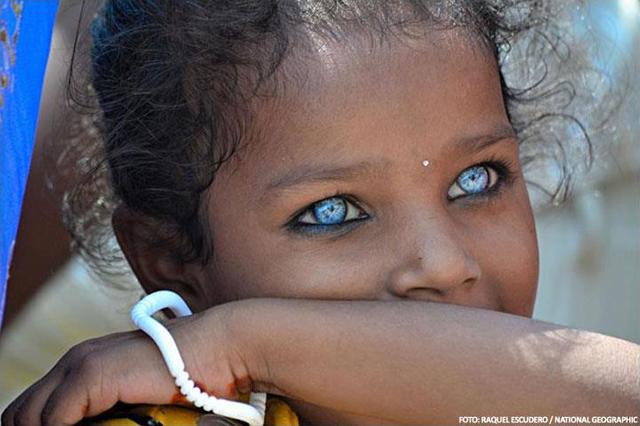 У ранних европейцев была тёмная кожа и голубые глаза
