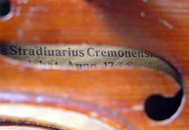 Скрипки Страдивари звучат не лучше современных скрипок