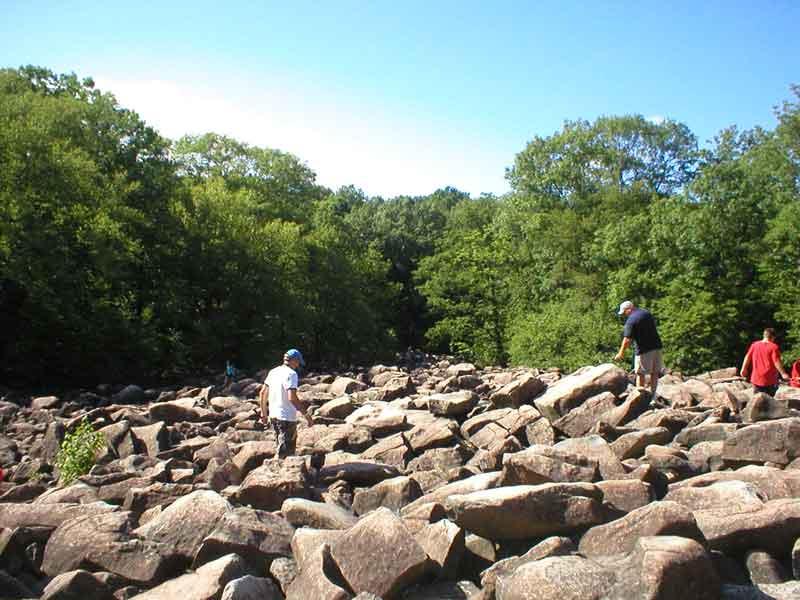 В Пенсильвании есть потрясающие звенящие скалы