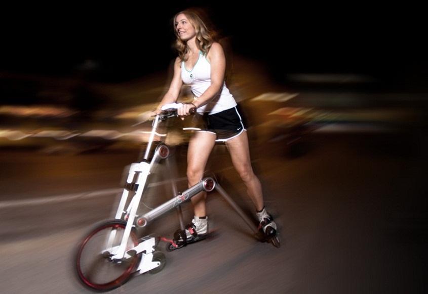 AeYO — странная помесь самоката, роликовых коньков и велосипеда