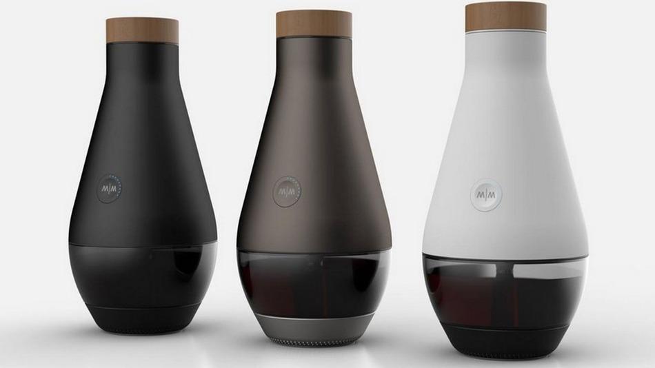 Существует машина, которая превращает водопроводную воду в калифорнийское вино