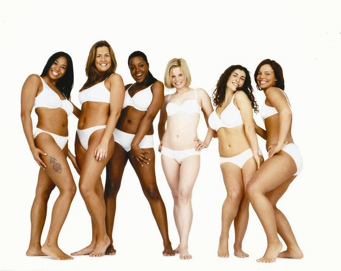 the concept of the ideal body of women in society