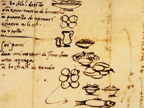 Микеланджело составлял художественные списки покупок