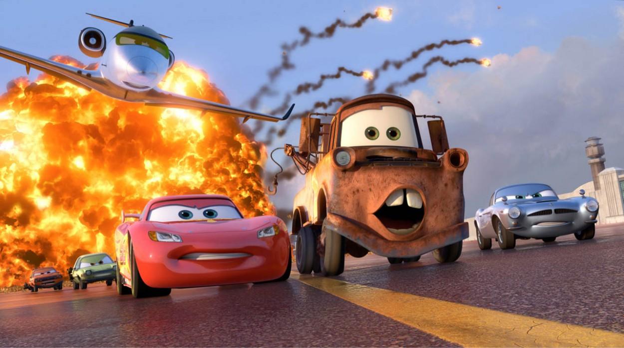 Создатели мультфильма «Тачки» поставили рекорд продаж сопутствующих товаров — $8 000 000 000