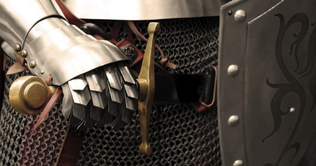 Доспехи рыцарей были намного, намного легче, чем вы думаете