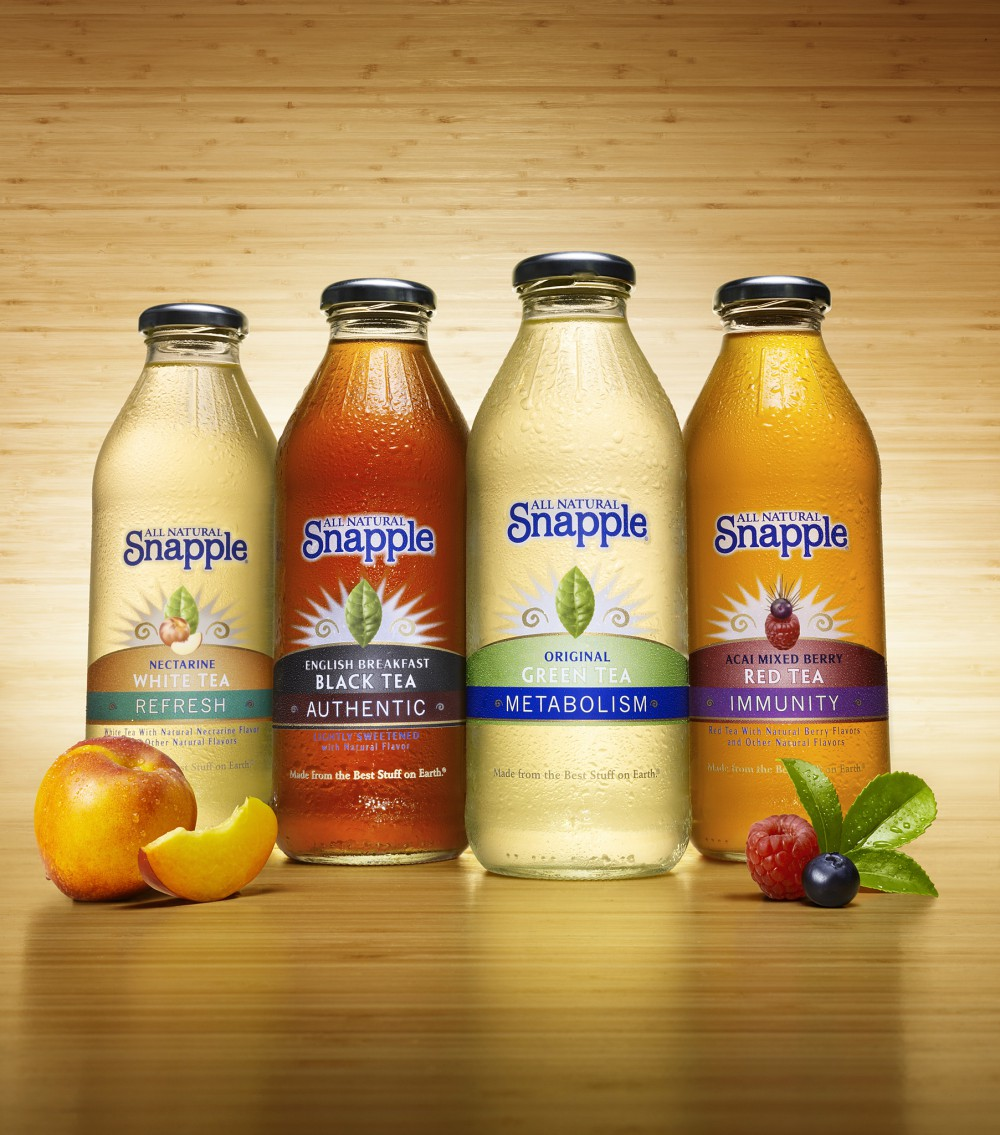 the acquisition of snapple by quaker