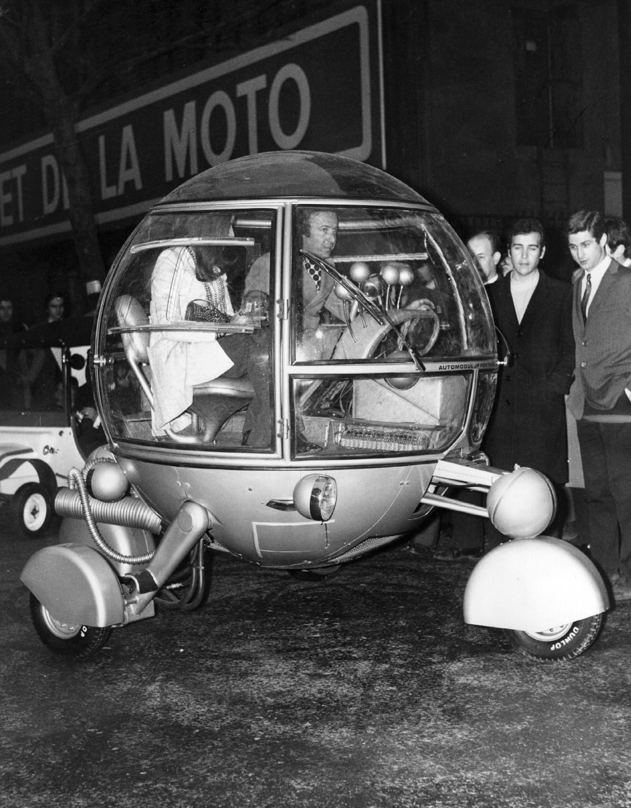Самые невероятные транспортные средства, созданные человечеством