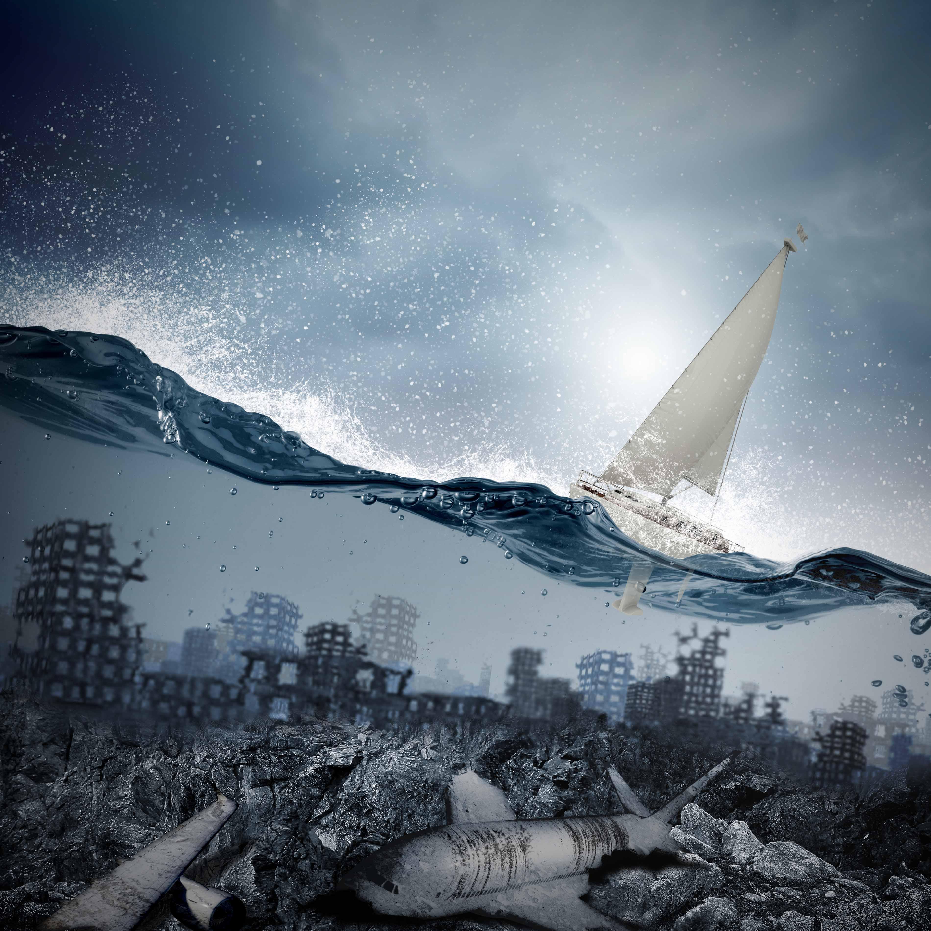 Десять забытых земель, навсегда погрузившихся вокеан