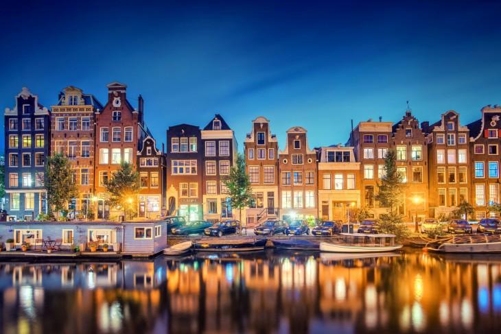 Где Находится Амстердам