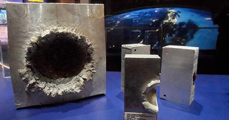 Вот что может натворить кусочек мусора на орбите