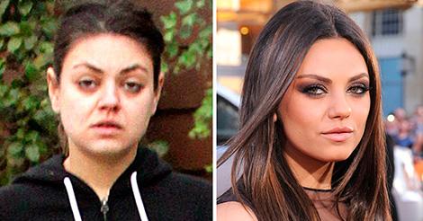 12 знаменитостей без макияжа