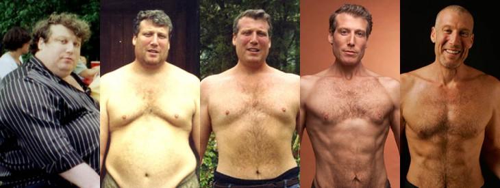 Он похудел на 100 кг без диет при помощи 7 правил, которые вывел самостоятельно