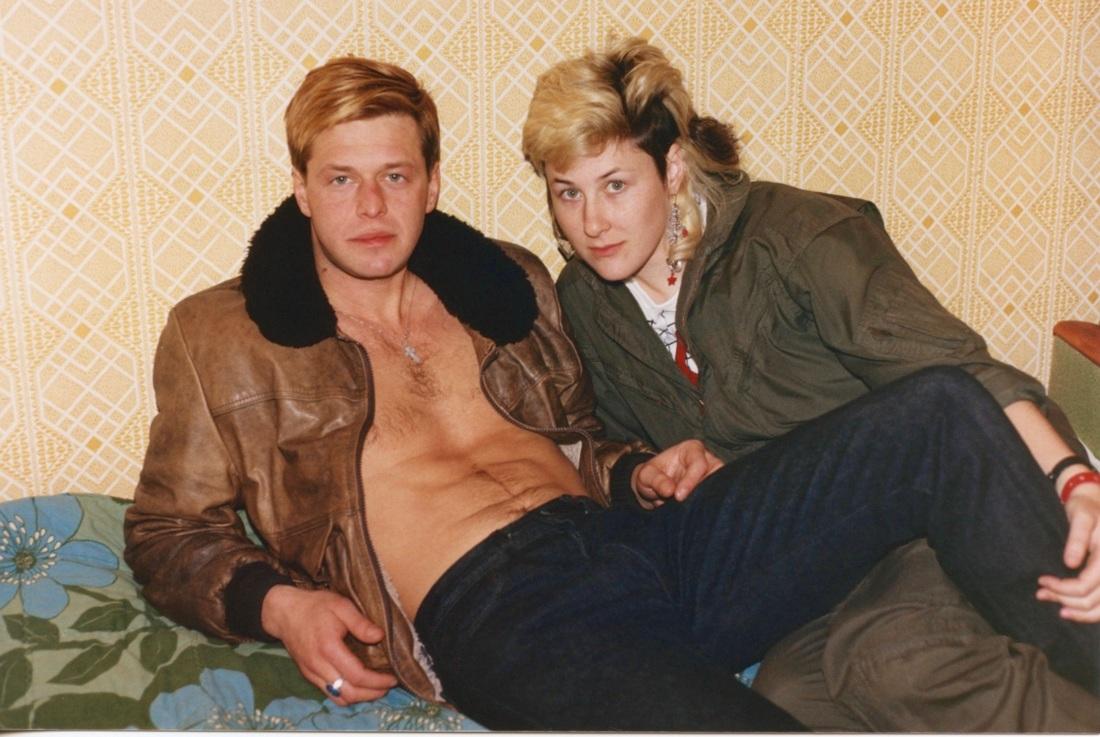 Цвет Ленинградского андеграунда 80-х вфотографиях Джоанны Стингрей