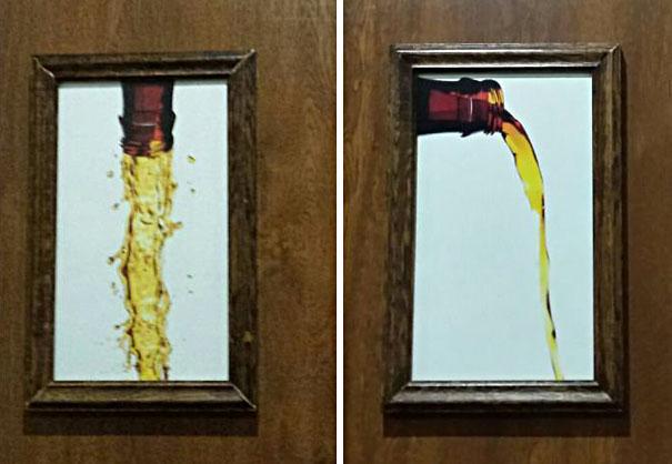 Найкреативніші туалетні знаки: 25 фотографій