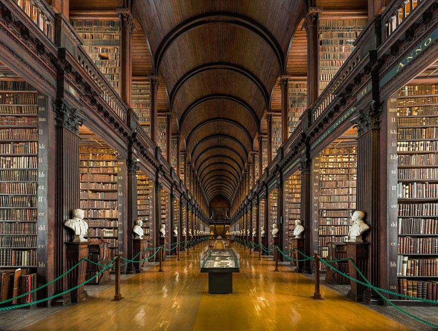 Эта 300-летняя библиотека вДублине поражает своей красотой!