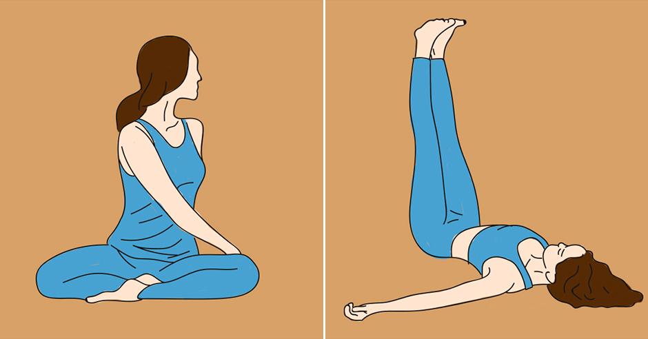 Йога для в домашних условиях в картинках