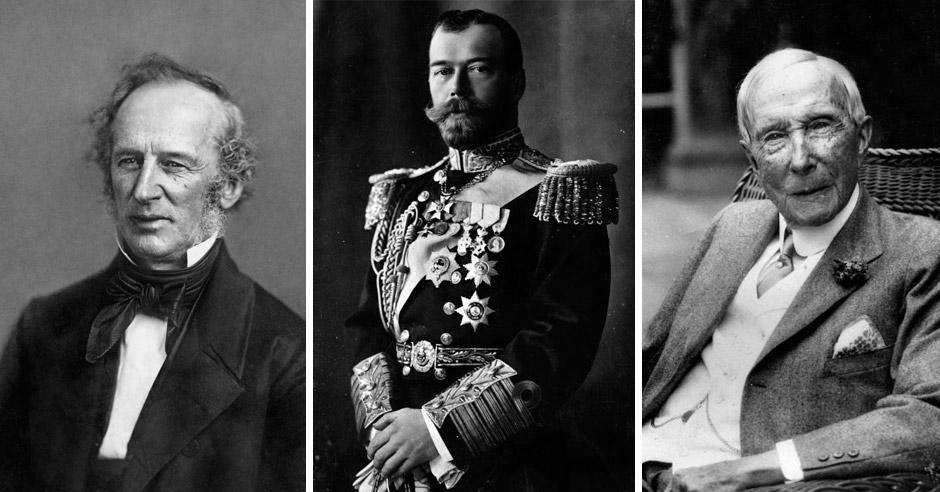 10самых могущественных ибогатых людей вистории человечества