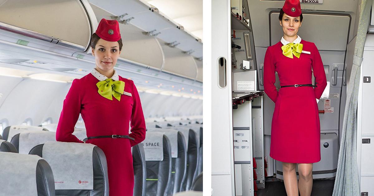 Вот почему стюардессы всегда держат руки заспиной, встречая пассажиров