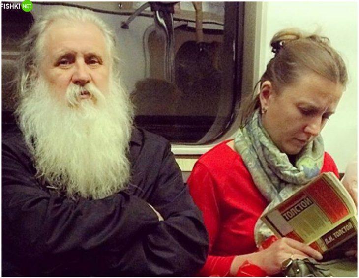 Еду я как то в общественном транспорте... Вы не поверите, с кем!