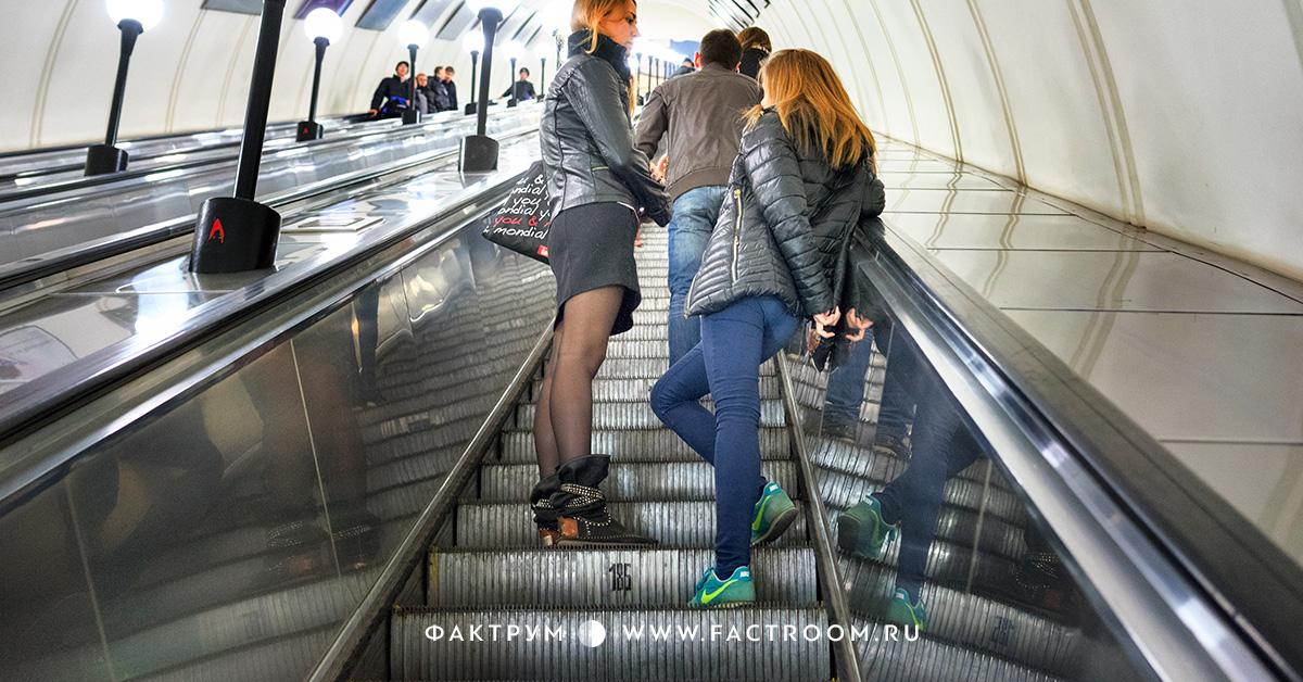 Парень договорился о встрече в метро с девушкой. Дальше — яркий пример женской логики