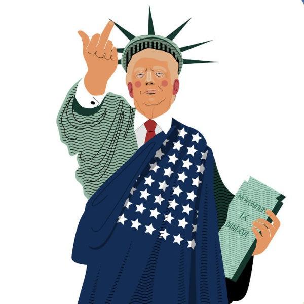 40 искромётных карикатур на победу Трампа, над которыми смеётся весь мир!