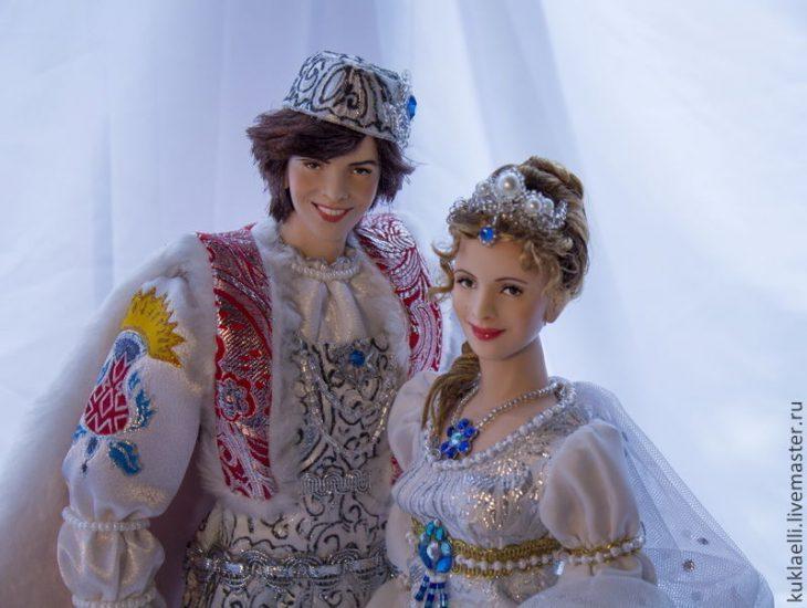 Наш ответ Барби: куклы Ларисы Исаевой, словно сошедшие со страниц любимых сказок
