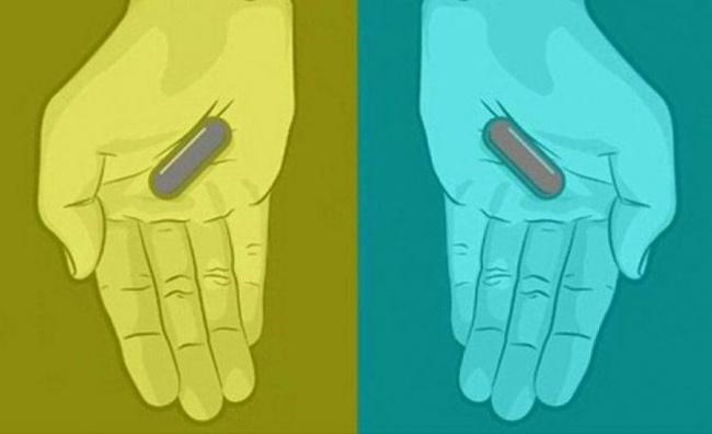 Какого цвета эти пилюли? Выбудете шокированы правильным ответом!