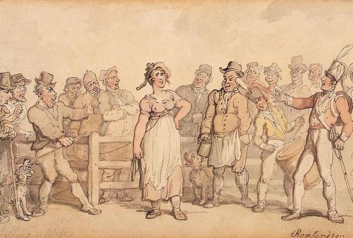 Как в Англии жён продавали: дикарские обычаи 19 века